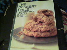 The Dessert Bible by Christopher Kimball s31b