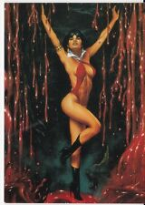 "VAMPIRELLA ""BLOOD LUST"" 1997 COMIC IMAGES TRADING CARD PROMO CARD #1 JOE JUSKO"