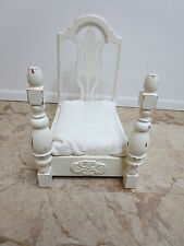 Antique Paint Decorated Depression Chair Dog Animal Bed