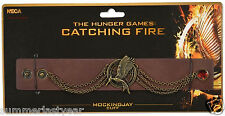 UPDATED MOCKINGJAY CUFF BRACELET - NECA - THE HUNGER GAMES: CATCHING FIRE  2013