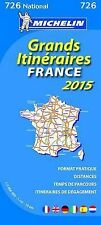 France Route Planning 2015 - Michelin National Map 726 (Michelin National Maps),