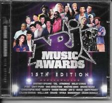 2 CD COMPIL 42 TITRES--NRJ MUSIC AWARDS 15eme EDITION-SPEARS/TAL/CYRUS/PINK-NEUF