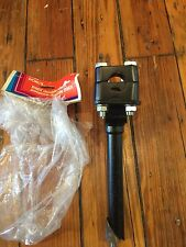 VINTAGE  Black NOS Dorcy NO-REACH Old School BMX Double Clamp Stem-22.2mm Quill