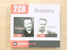 BOITIER 2 CD / GEORGES BRASSENS / MASTER SERIE / NEUF SOUS CELLO