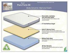 CAL KING Boyd 8'' Memory Foam Mattress! Boyd Pure Form 80! Medium Firm