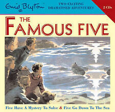 FIVEHAVE A MYSTERY TO SOLV & FIVE GO DOWN TO THE SEA Enid Blyton CD-Audio, 2008)