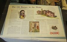 1925 Williams Oil-O-Matic Heating Company Brochure Sellersville PA Oil Burners