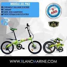 Vélo Pliant BLANCMARINE 20PM2 - 7 vitesses - Modèle d´exposition