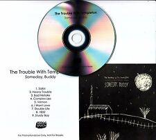 THE TROUBLE WITH TEMPLETON Someday, Buddy UK 9-trk promo test CD + press release