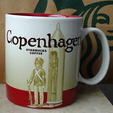 Starbucks City Mug Cup Global Icon Series Copenhagen Denmark 16oz NEW