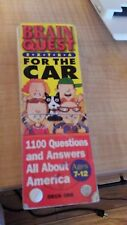 Brain Quest Extra for the Car Ages 7-12 Deck One