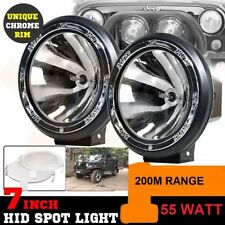 "★HID Imported Lamp- 55W, 7"" SpotBeam Offroading Light For Toyota Innova 6000k★"