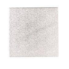 Cake Board Quadrat Silber 13x381mm