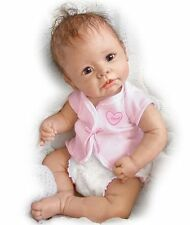 Ashton Drake LITTLE ANGEL Baby Girl Doll By Linda Murray
