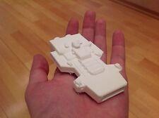 Babylon 5 Model Artemis spaceship. Scale 1:3280. Unpainted. Assembled