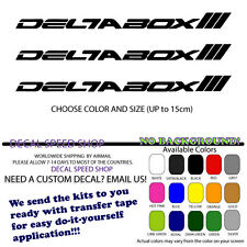 Yamaha Deltabox 3 Logo decals X3  YZF R1 R6