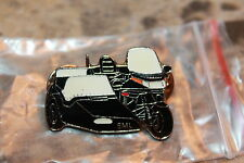Honda Gold Wing side car black motorcyle pin Turquoise color #0560 dble pin back