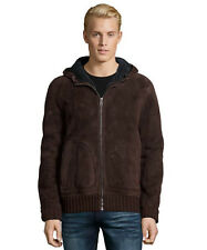 NWT GUCCI $4100 MENS SHEARLING LAMB LEATHER BOMBER JACKET COAT US 40 EU 50