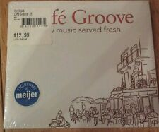 Cafe Groove, New Music Served Fresh, Various Artists, Brand New, Awesome CD!!