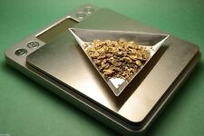 3 Aluminum GOLD Scale Transfer Trays with Funnel for Gold Nuggets Gems Powder