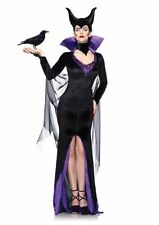 Maleficent Adult Women Dress Fancy Costume Halloween/Cosplay Black Medium Size