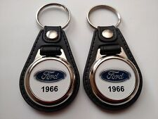 1966 FORD KEYCHAIN 2 PACK CLASSIC TRUCK AND CAR  LOGO