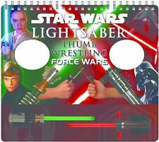 Star Wars Lightsaber Thumb Wrestling Force Wars by Pablo Hidalgo (2016, Mixed M…