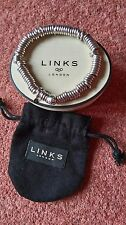 LINKS OF LONDON  GENUINE SWEETIE BRACELET EX CON  LARGE  BOX & POUCH INC.