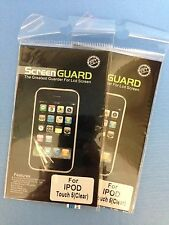 2 x ClearScreen Guard LCD Screen Protector For Apple iPod Touch 5G 5th Gen