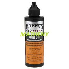 (o)Hoppes Elite Lubricating Gun Oil 2oz Firearm Reel Lubricant Cleaning Hoppe's