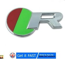 Jaguar R Chrome Badge Emblem Logo Sticker XKR XJR XFR XJ XK XF S Type X T R S124