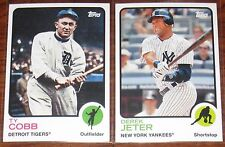 2014 Topps Baseball Archives 1973,1980, 1986, & 1989 Series You Pick 20 Cards