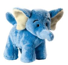 Stofftier Plüschtier Kuscheltier Elefant blau