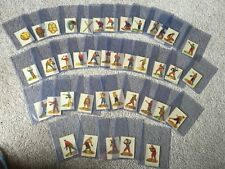 1910 Baseball Stamps -  Complete Set - Rare
