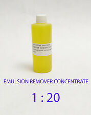 CCI GEM-ZYME stencil/emulsion remover concentrate. 4 - Oz  Free Shipping