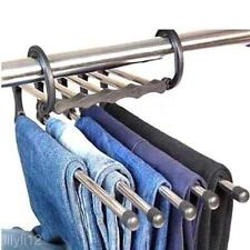 Shirt Trousers Pants Jeans Scarf Coat Hanger Hook Clothes Rack Station Organizer