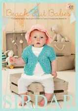 Sirdar Beach Hut Babes Book for Baby Bamboo yarn, Patterns for  0-7yrs