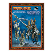 Príncipe y noble alto elfo/Dragon Noble-Warhammer Fantasy-Games Workshop