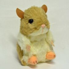 Hamster Plush (Beige & White) cute and realistic