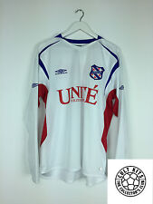 HEERENVEEN #9 *PLAYER ISSUED* 05/06 L/S Away Football Shirt (XL) Soccer Jersey