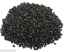 Hi fish aquarium water Black color gravel 3kg stone pebbles chips decoration
