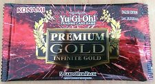 YUGIOH PREMIUM GOLD INFINITE GOLD PACKS SEALED BRAND NEW PGL3 BOOSTER BOX CASE
