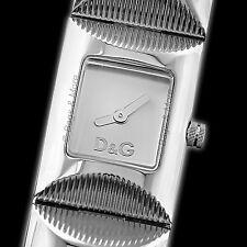 DOLCE & GABBANA Armbanduhr TWEED Damen Uhr Markenuhr Edelstahl Silber D&G DW0322