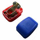 QUICK RELEASE EASY FIT BATTERY TERMINAL CLAMPS 12V 24V CAR MOTORHOME CARAVAN