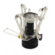 Portable Outdoor Picnic Gas Burner Foldable Camping Mini Steel Stove Case HOT SY