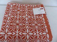 Fusion Flower Bath Towel Paprika 70cm x 140cm