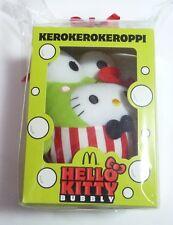 """HELLO KITTY 6"""" BUBBLY Plush KEROKEROKEROPPI Toy McDonalds Thailand MINT 14"""