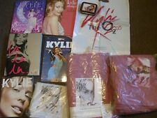 2 X KYLIE THE SHOWGIRL AND 4 OTHER KYLIE BOOKS CARRIER BAG TABACCO TIN TOWELS