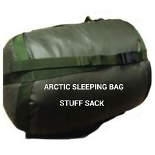 BRITISH ARMY STUFF SACK - GRADE 1 - DURABLE - ARCTIC SLEEPING BAG STUFF SACK