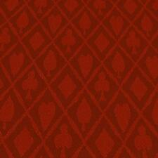 10FT X 5FT Red Suited Speed Cloth Poker Table Felt 100% Polyester